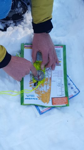 Col d'Ornon, parcours d'orientation multi-activités