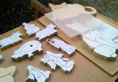 Initiation au chantournage et à la sculpture sur bois