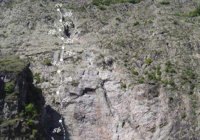 Site d'escalade de la Chalp