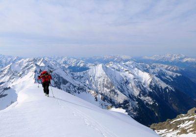 Ski de randonnée depuis le Col d'Ornon