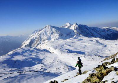 Ski de randonnée depuis La Grenonière / Ornon
