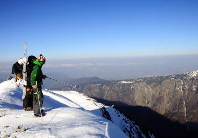 Ski de randonnée depuis Oulles / Vallée de la Lignarre