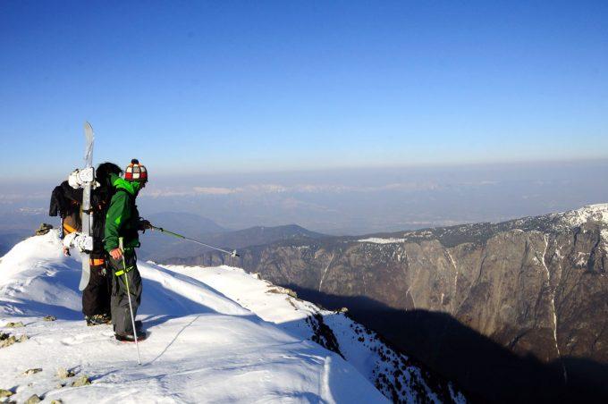 Ski de randonnée depuis Oulles