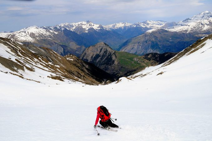 Ski de randonnée depuis Villard-Reymond