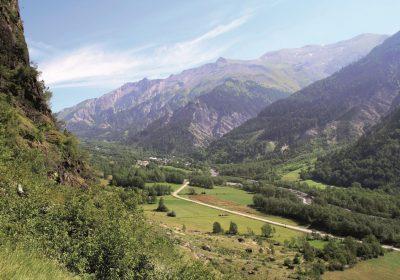 Col d'Ornon depuis Entraigues (versant sud)