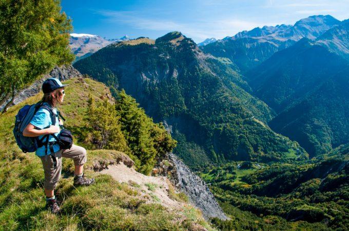 Vue sur la vallée de la Lignarre