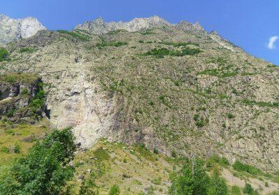 Site d'escalade de la dalle de Chantelouve